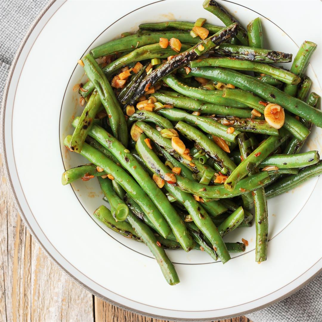 Spicy Green Bean Stir Fry