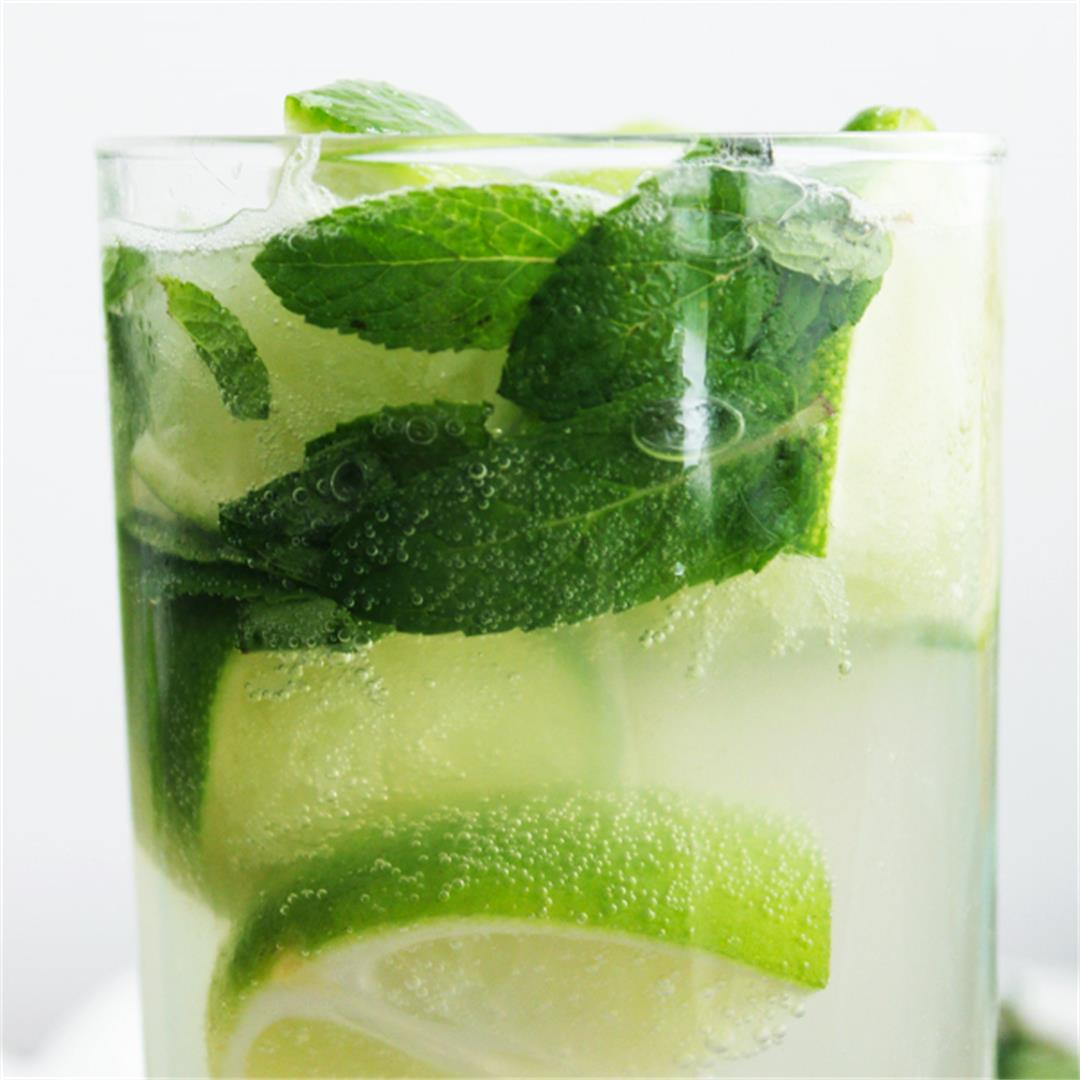 Elderflower Mojito - a refreshing and zingy cocktail