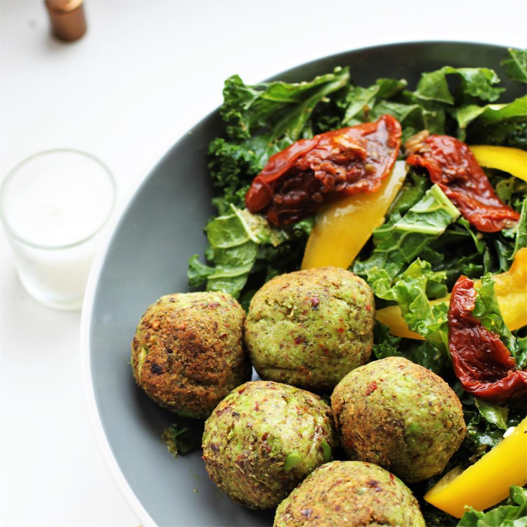 Edamame Falafel Recipe (Vegan, GF)