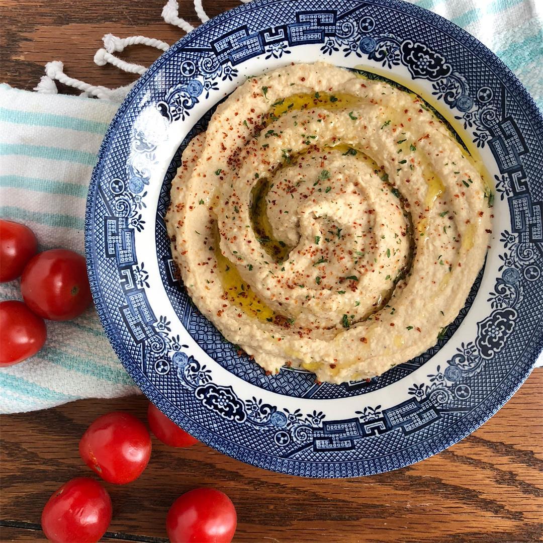Creamy Blender Hummus