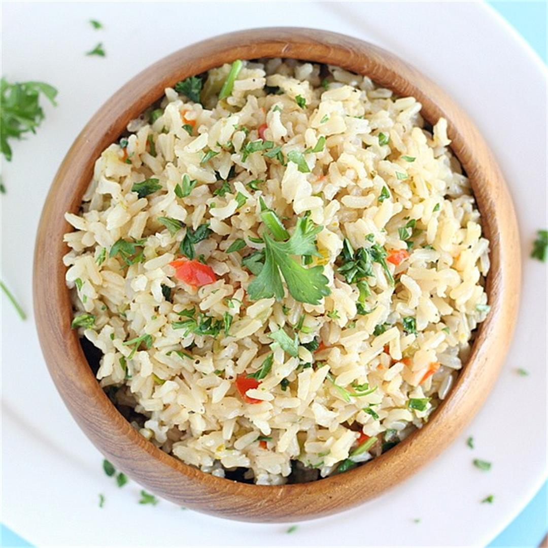 Herb and Vegetable Brown Rice