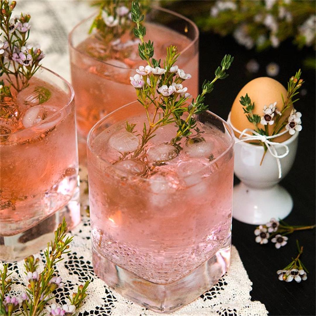 Pretty Pink Gin & Tonics