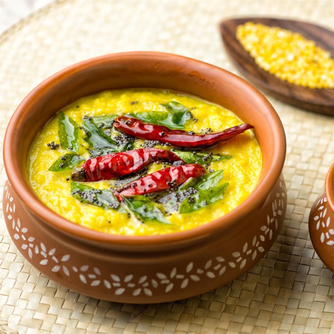 Parippu (Dal) Curry / Kerala Sadya Parippu Curry