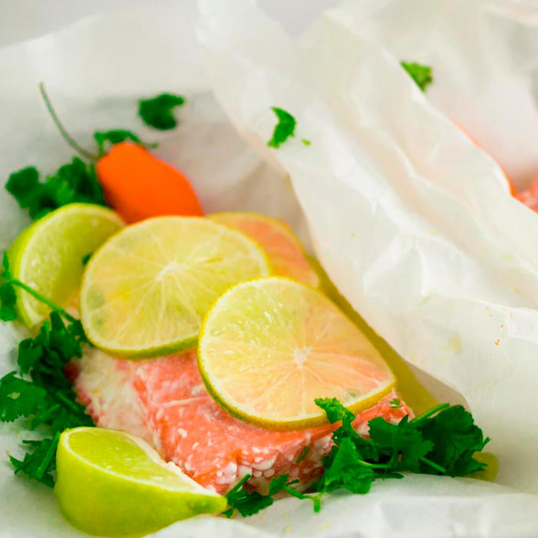Easy Chili Lime Oven Baked Salmon