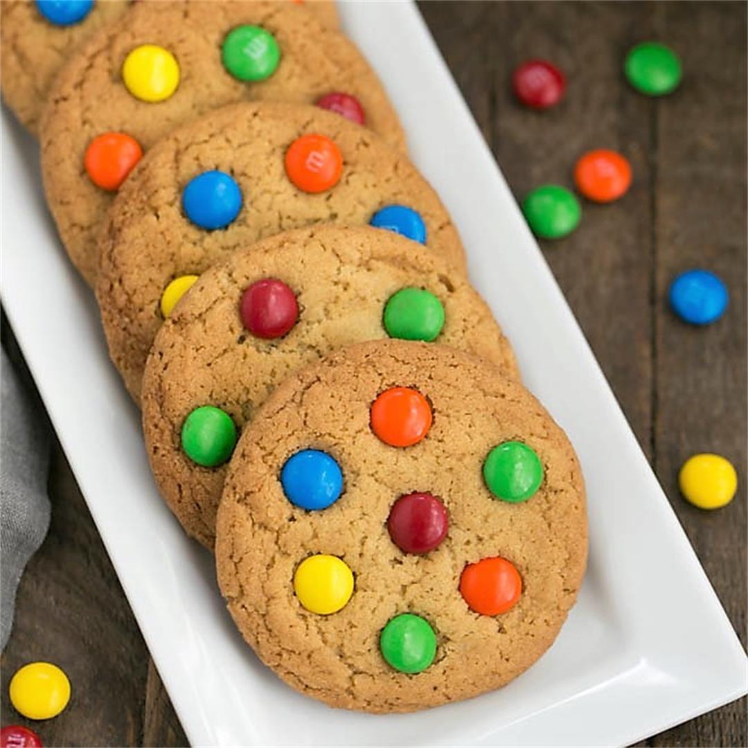 Classic M&M Cookies