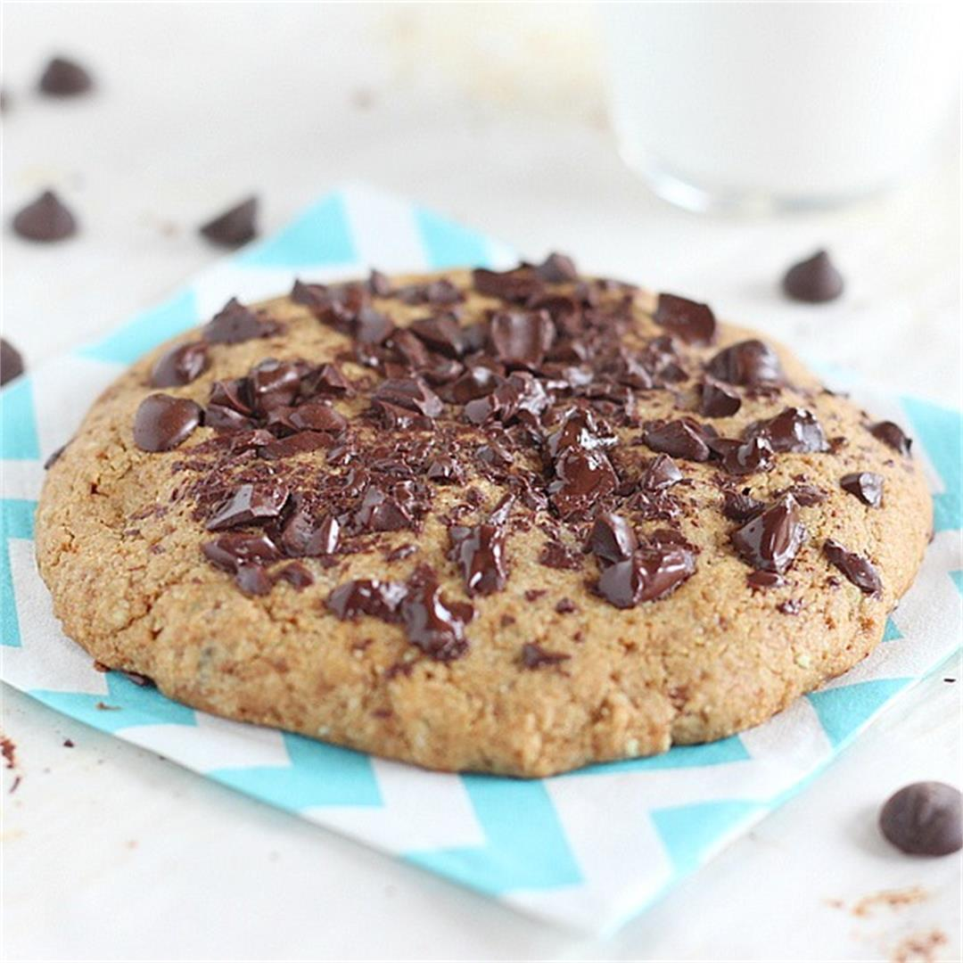Vegan GF Chocolate Chip Cookie for One