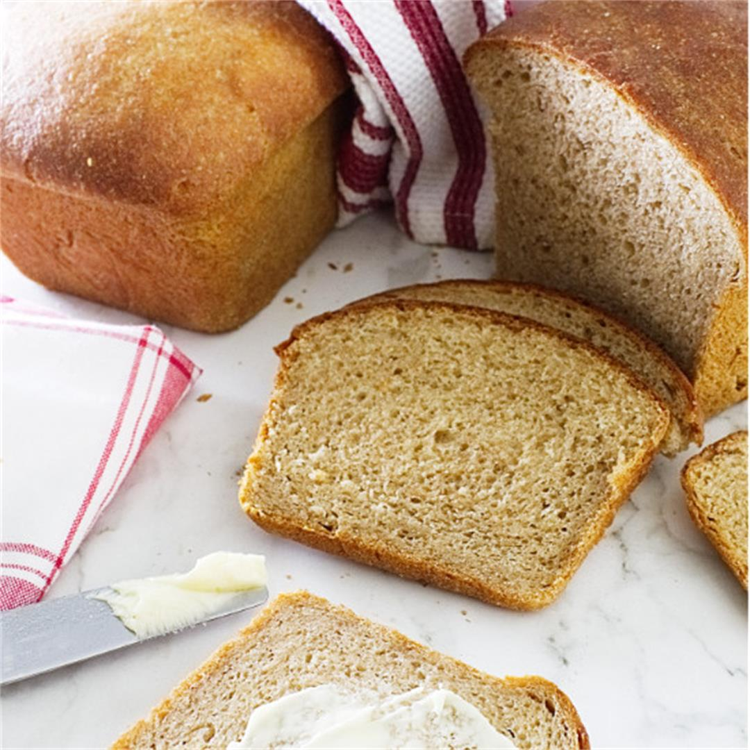 sprouted wheat sandwich bread