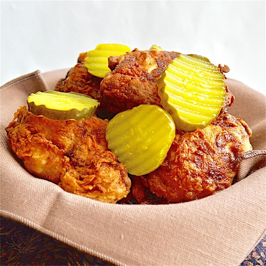 Simple Buttermilk Fried Chicken