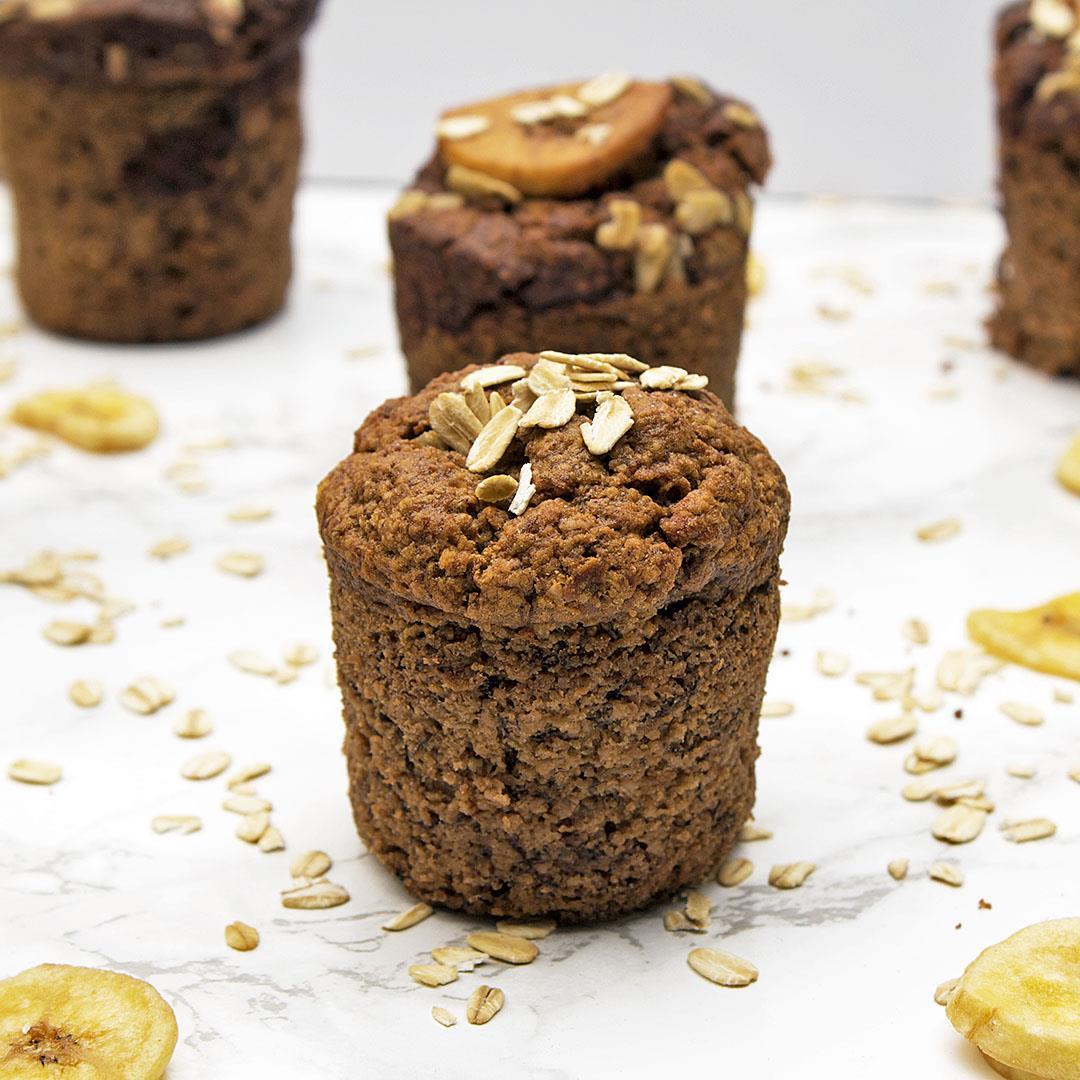 Vegan Banana Muffina
