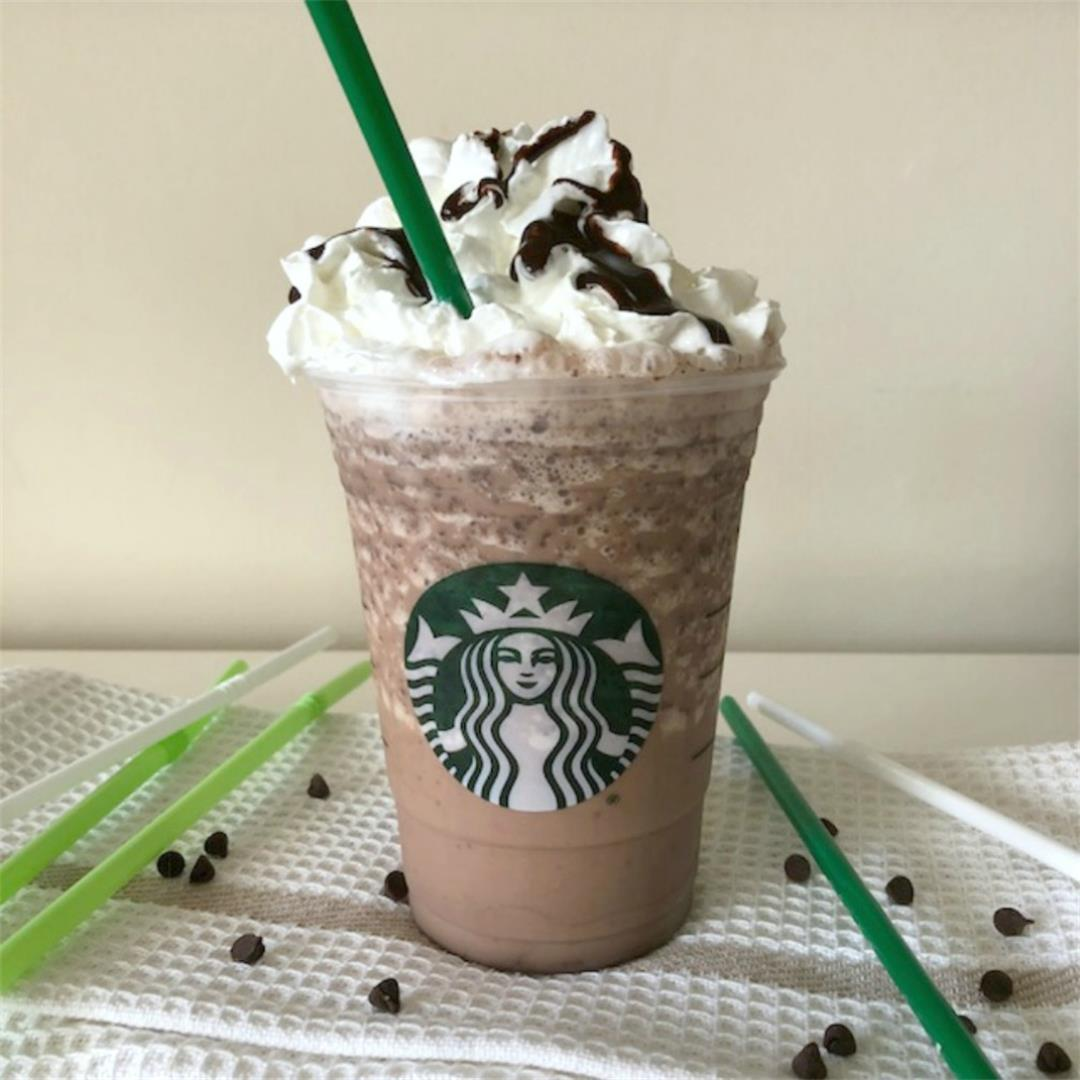 Copycat Starbucks Chilled Double Chocolate Chip Frappuccino