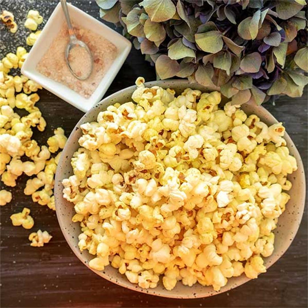 Gourmet Homemade Popcorn