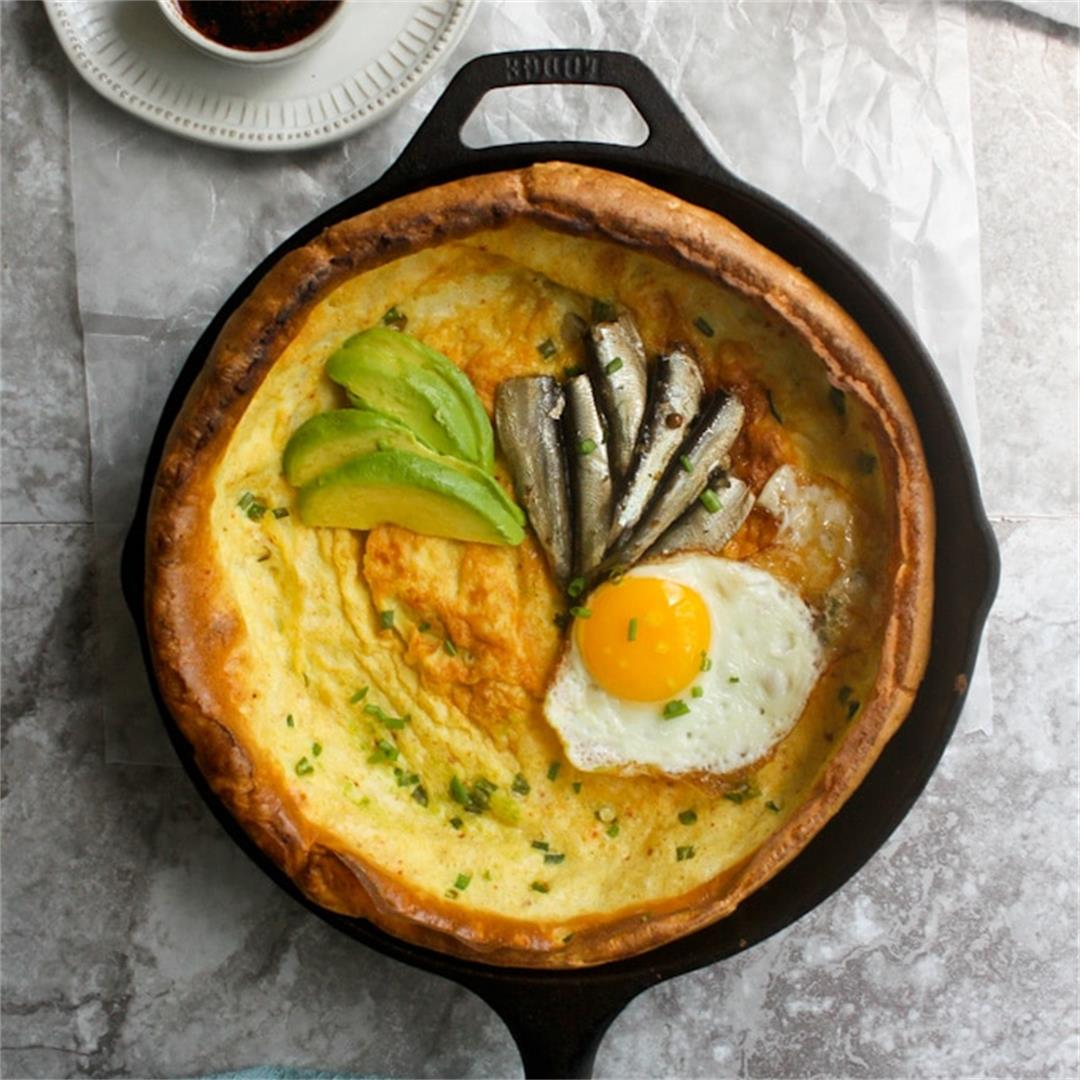 Korean Seafood Pancakes: A Dutch Baby Recipe