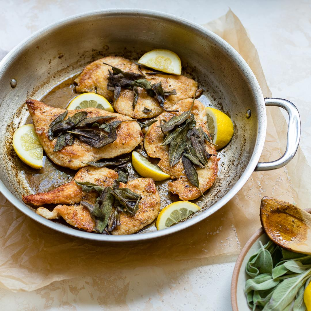 Brown Butter Sage Skillet Chicken