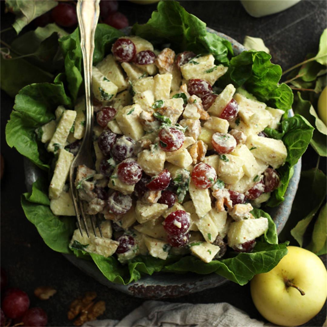 Healthy Vegan Waldorf Salad Recipe