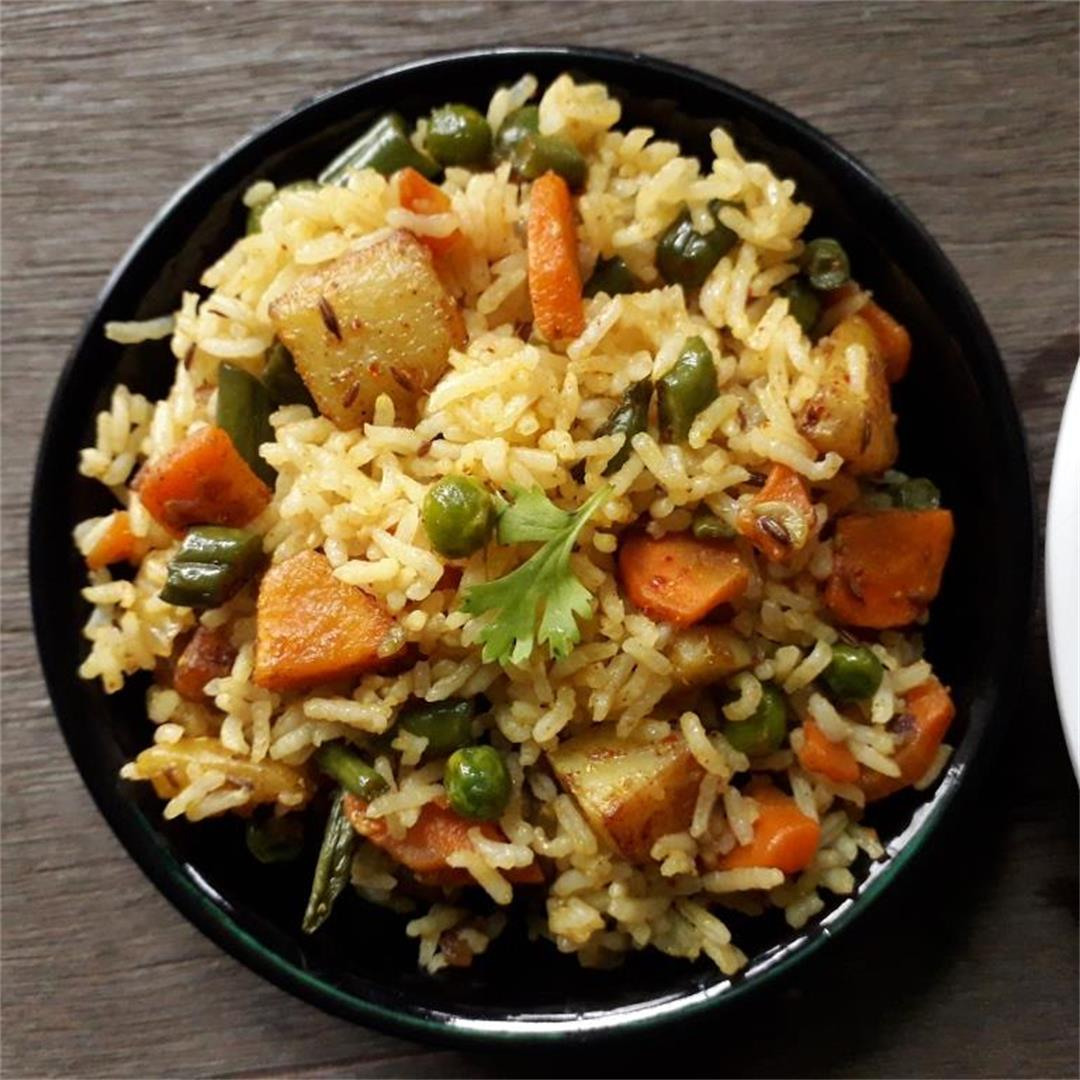 Mix Vegetable Fried Rice