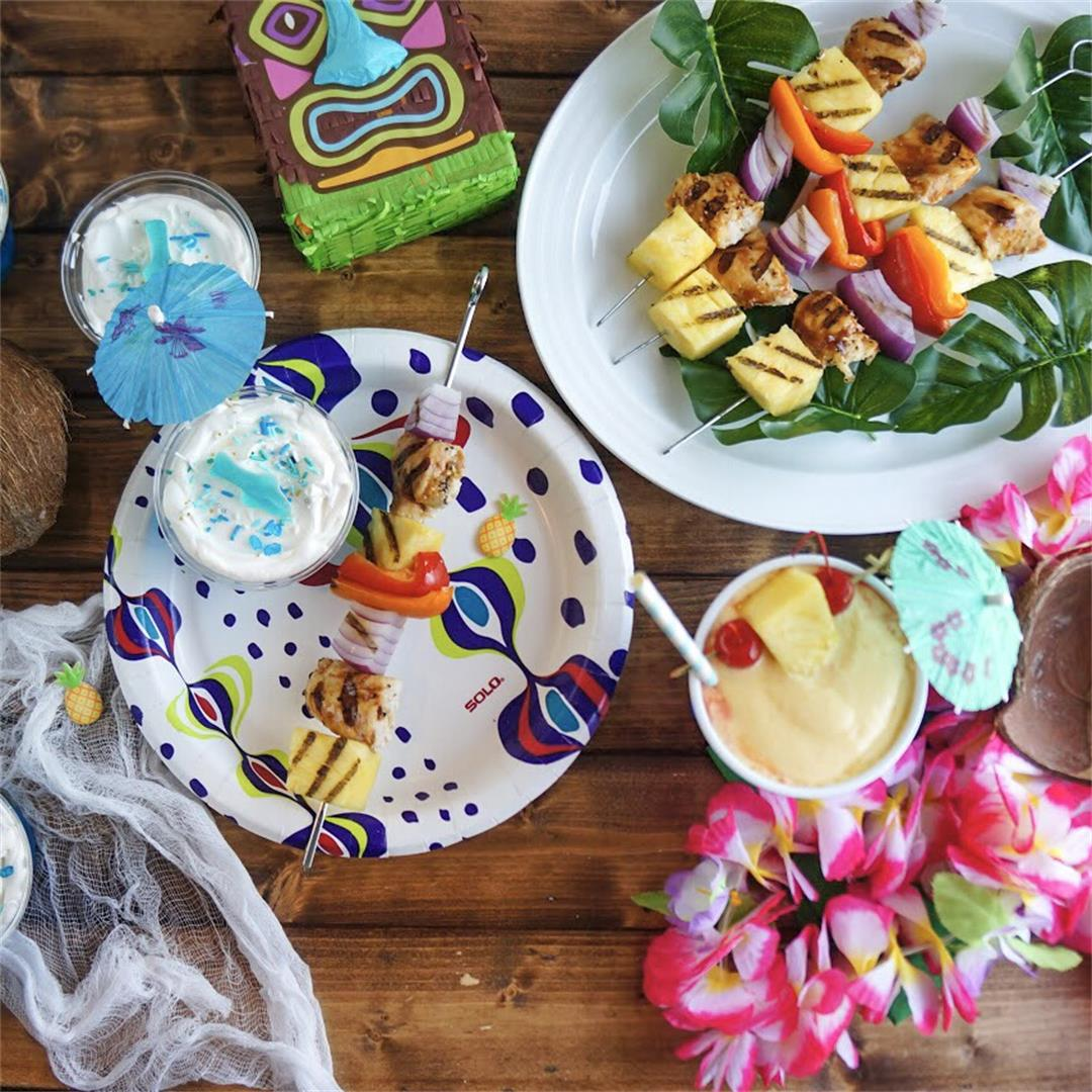 How to Host a Labor Day Luau