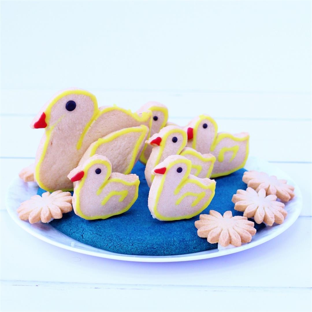 Easy 3D Biscuits: 5 Little Ducks