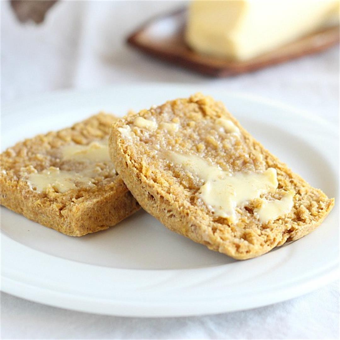 Spelt Flour Pumpkin Biscuits - Vegan
