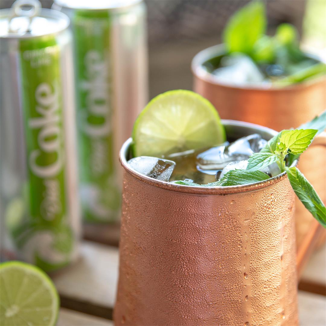 Ginger Lime Moscow Mule with a Twist