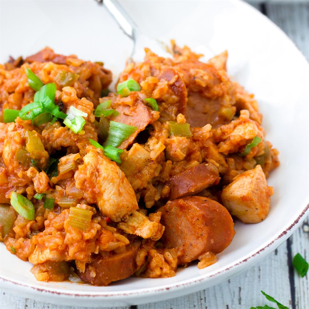 One Pot Jambalaya