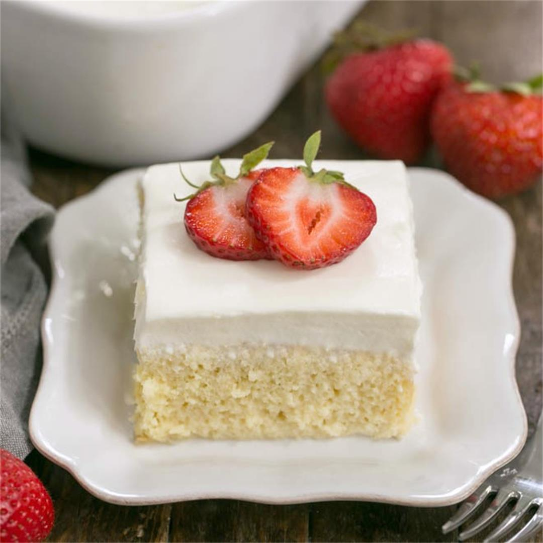 Authentic Tres Leches or 3 Milks Cake - A Latin American winner