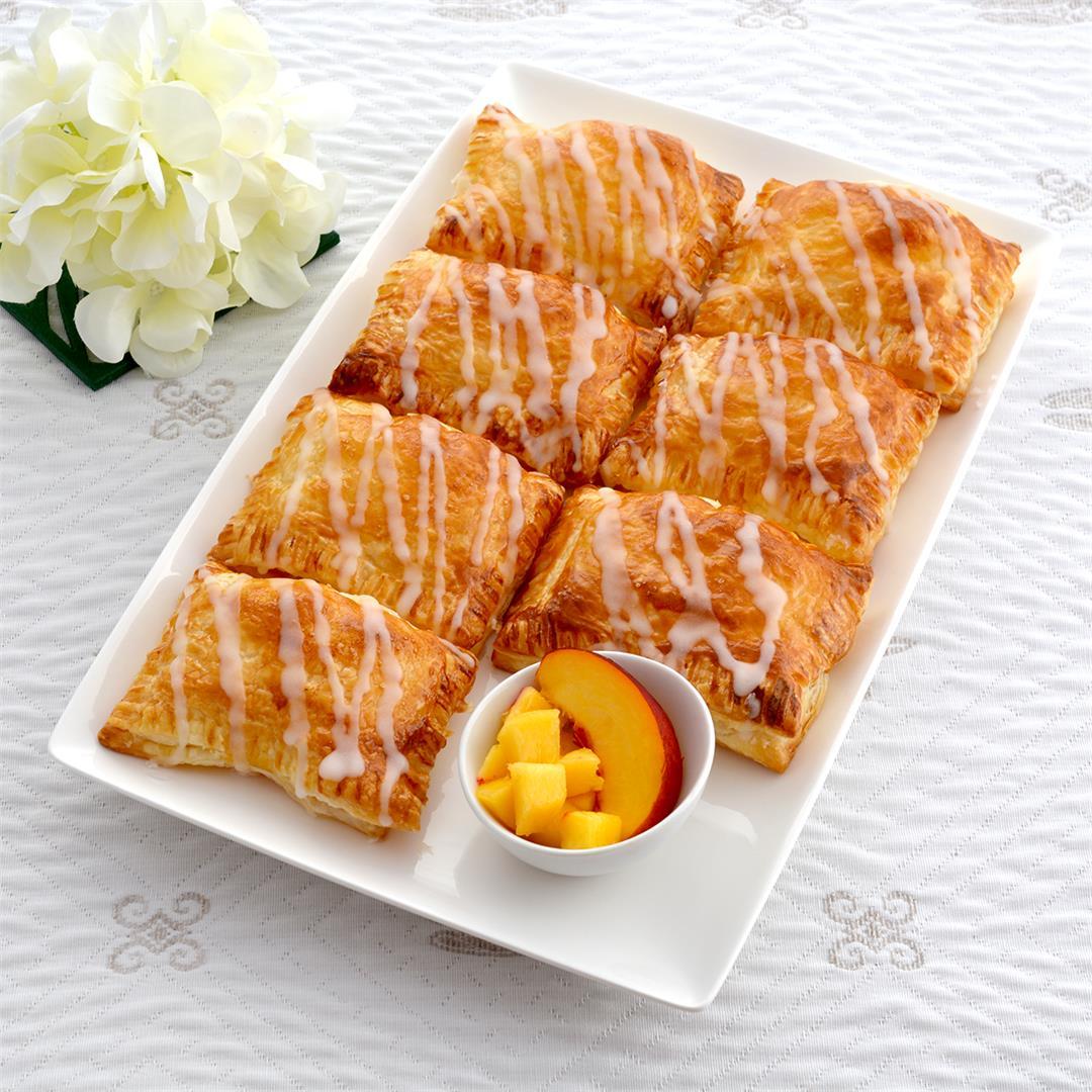 Peach Honey Hand Pies