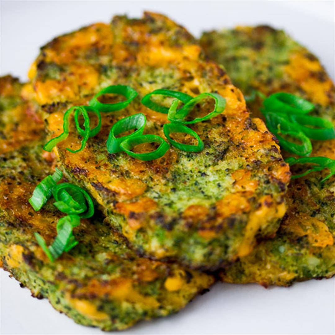 Broccoli Cheddar Cauliflower Hashbrowns