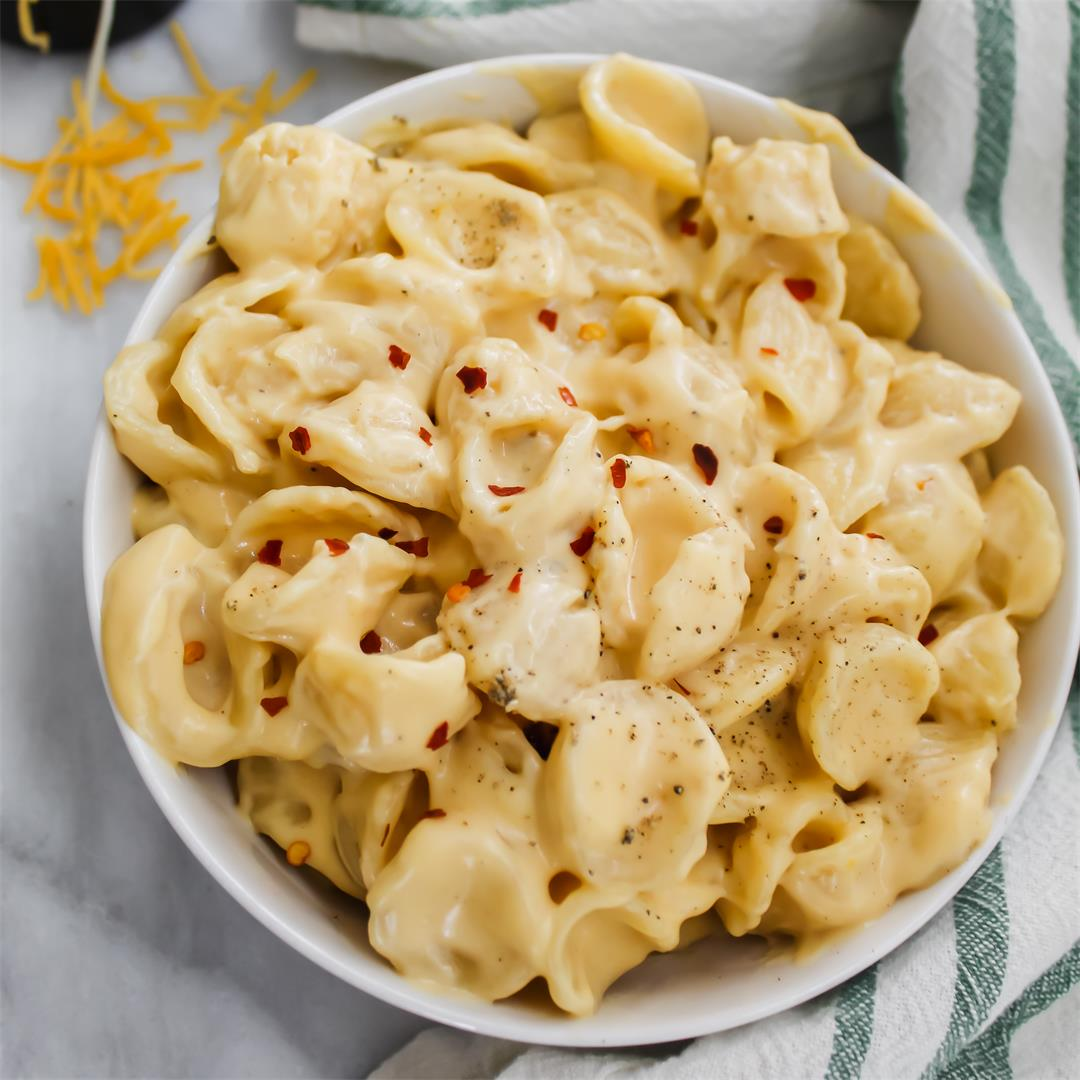 The Best Stovetop Mac and Cheese - easy and ultra creamy!
