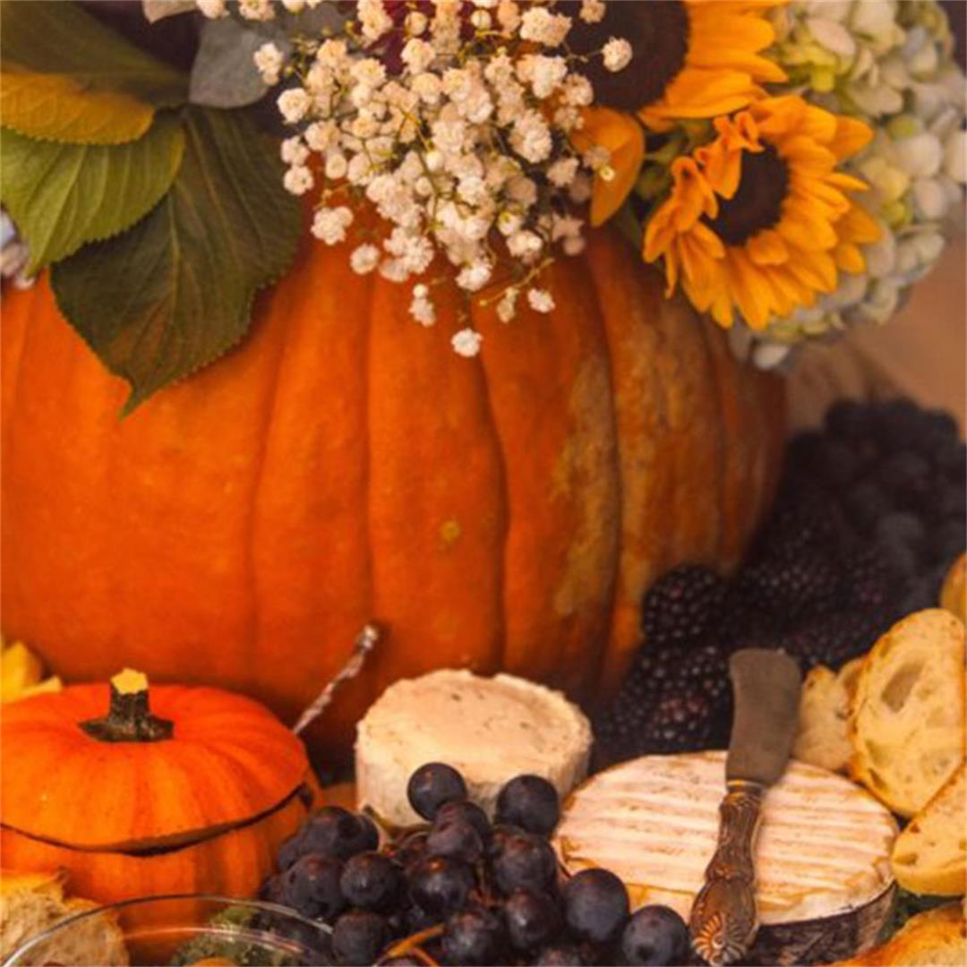 A Beautiful Halloween Appetizer Centerpiece
