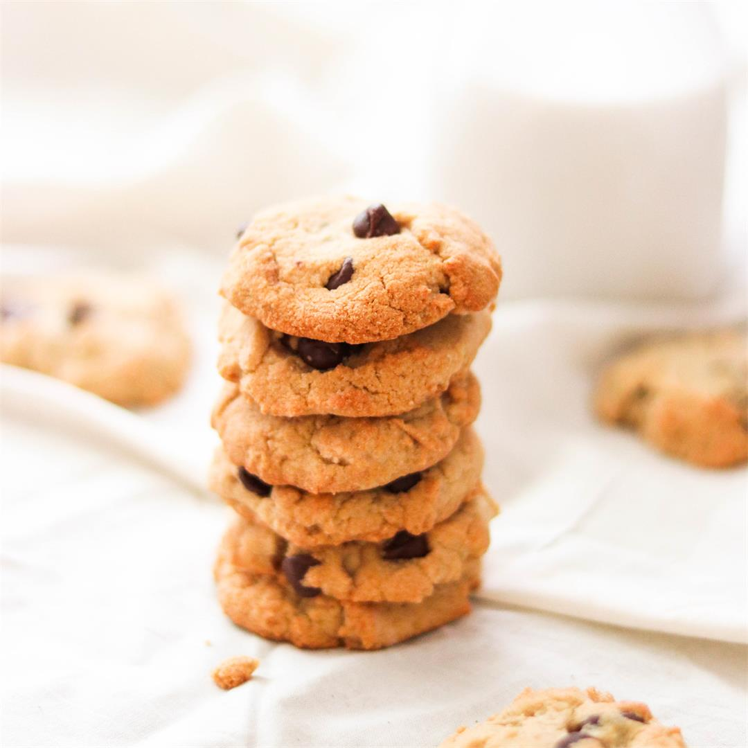 Nut-Free Cassava Flour Chocolate Chip Cookies