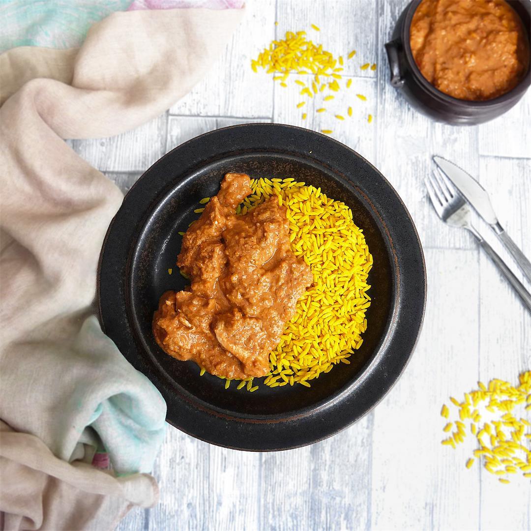 Hidden Vegetable Garlic Chilli Chicken Curry
