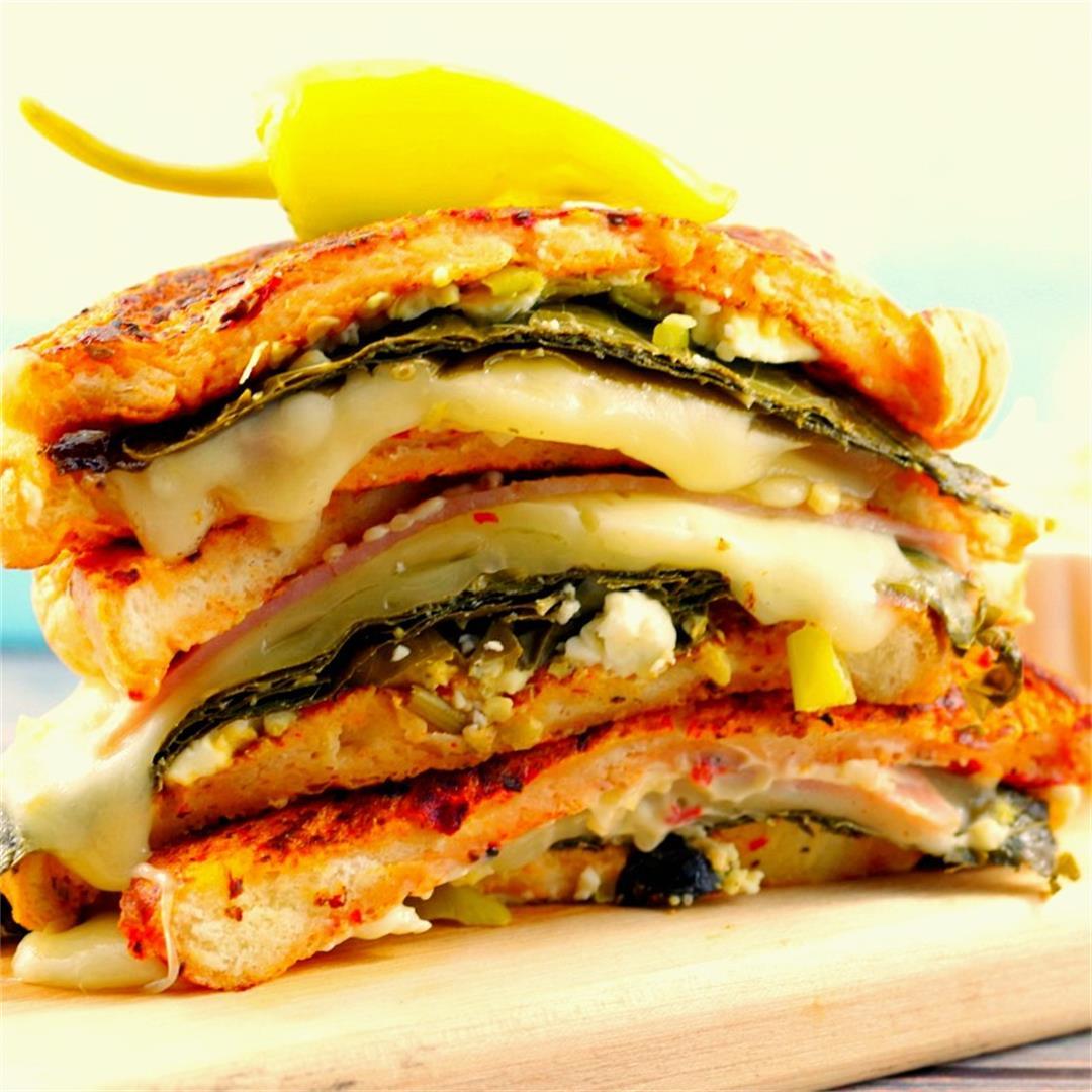 The Mediterranean Monte Cristo- a gourmet sandwich