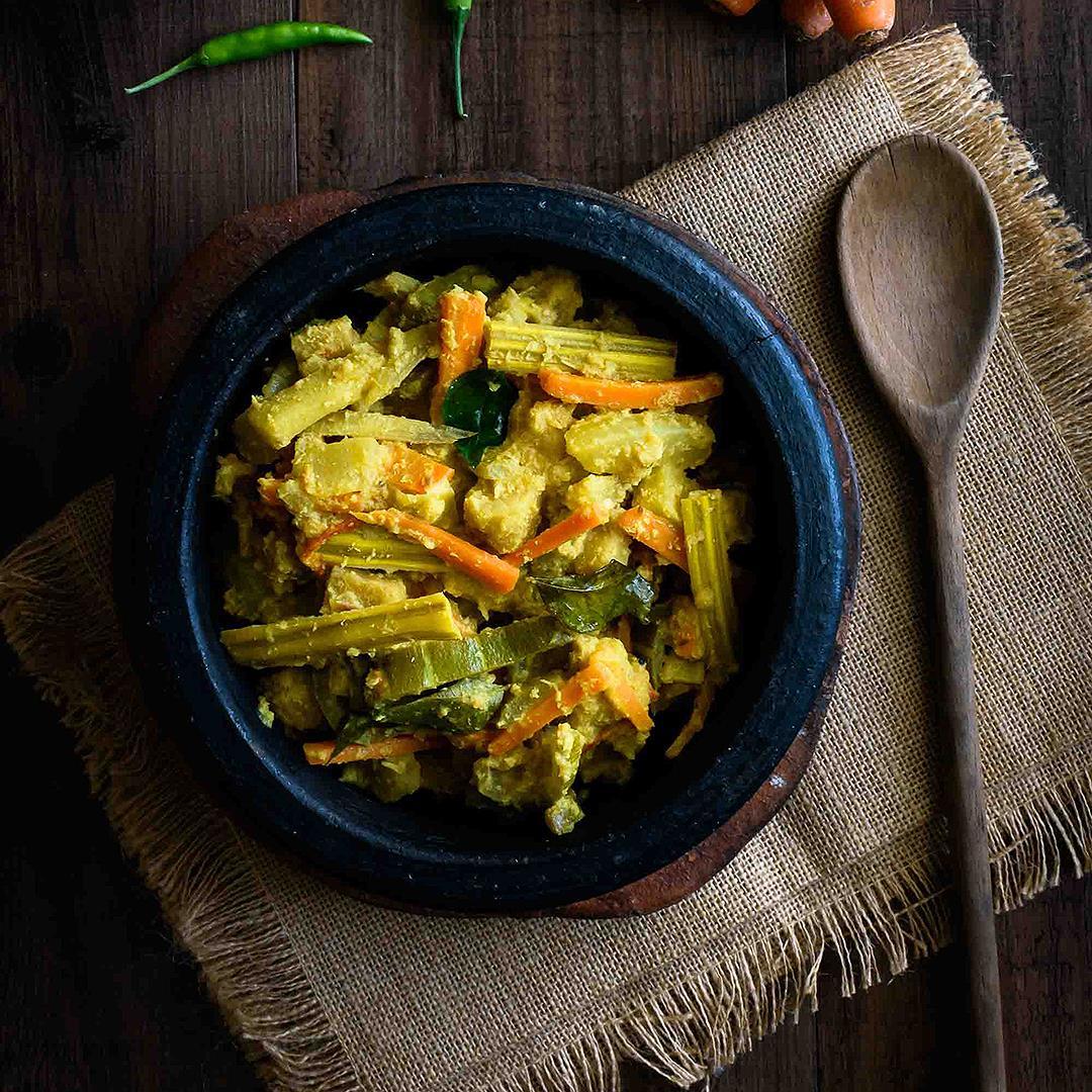 Avial/Mixed Vegetables in Coconut Gravy
