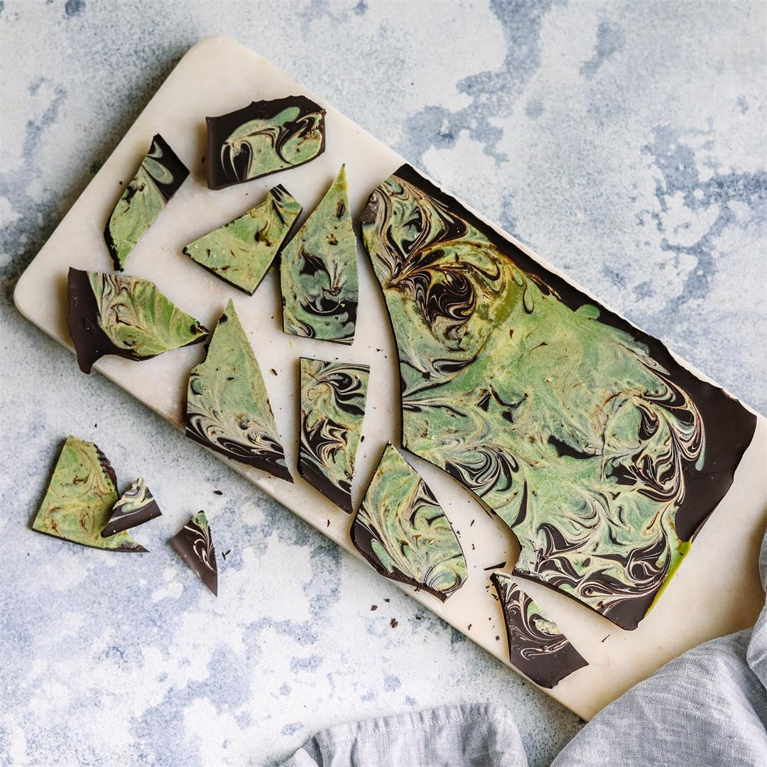 Matcha Swirl Chocolate