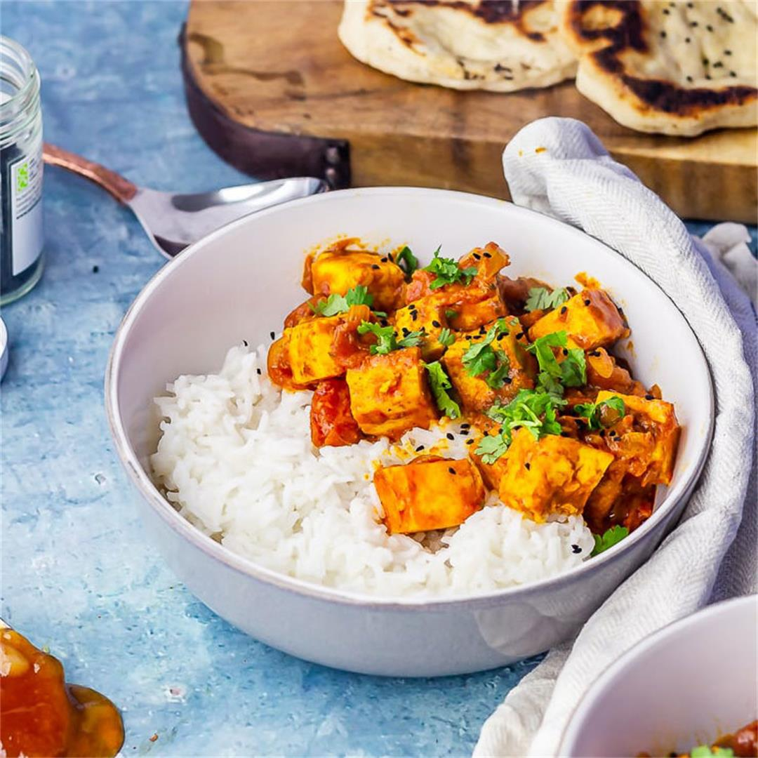 Five Ingredient Paneer Tikka Masala