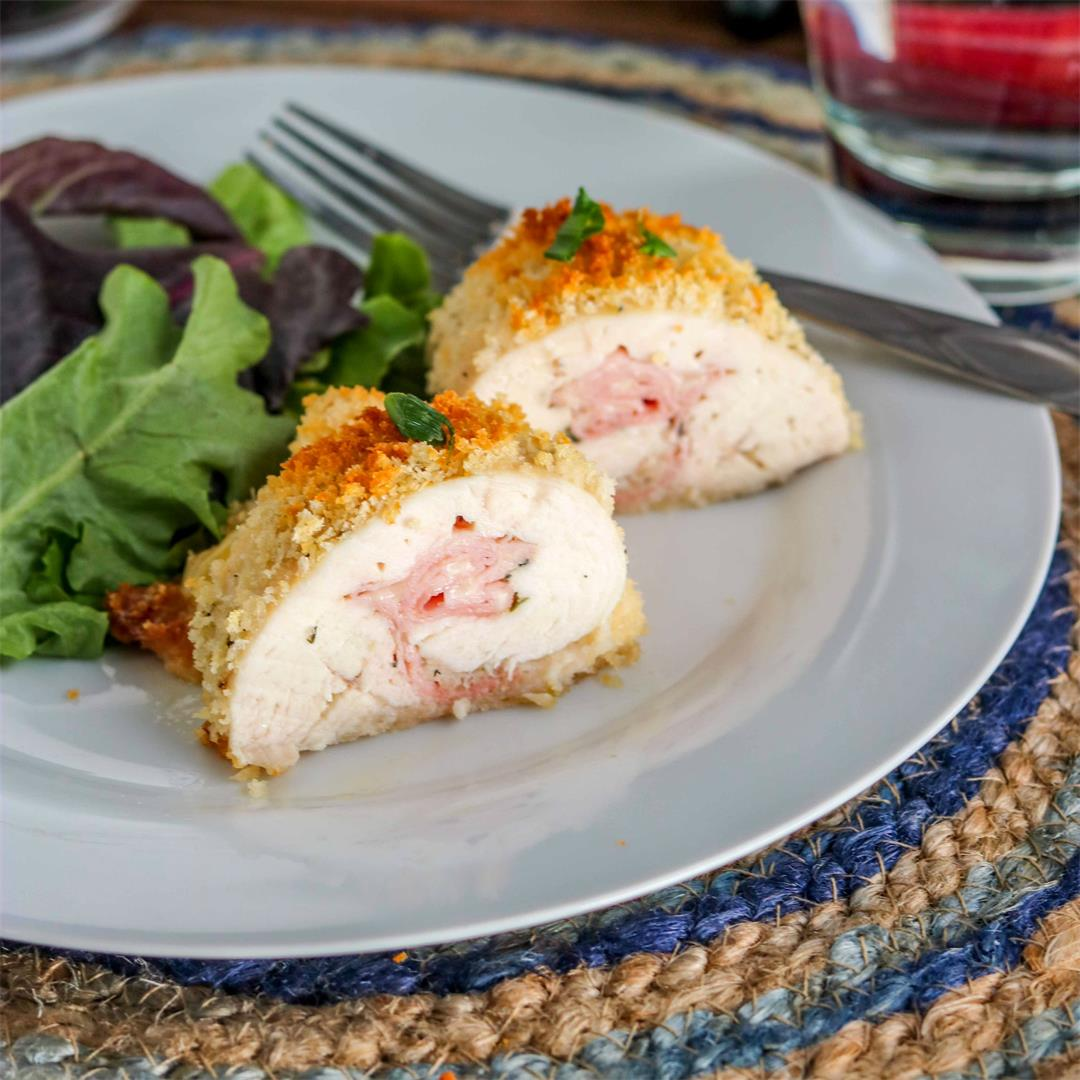 Easy Chicken Cordon Bleu