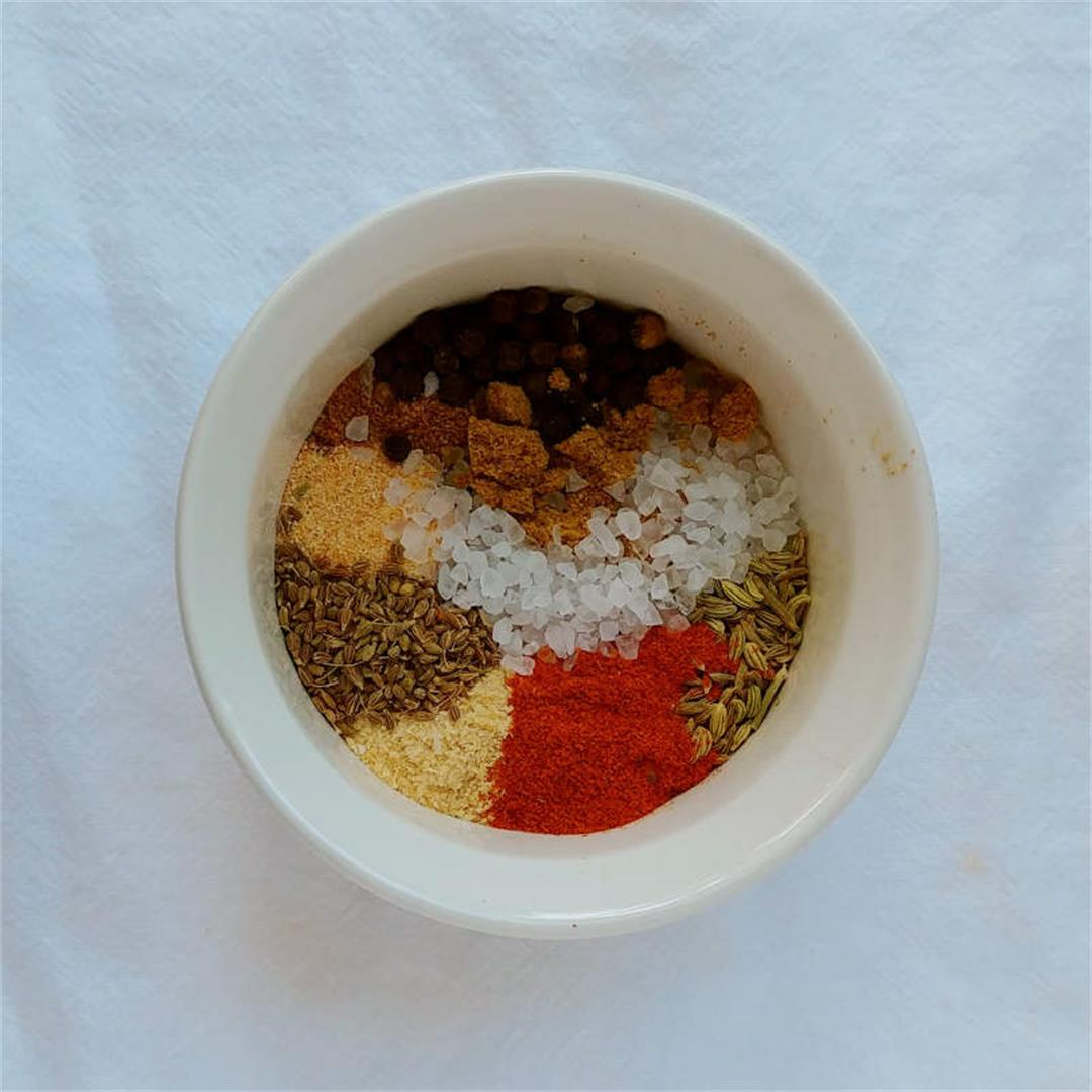 Fennel Spice Rub for Salmon or Pork