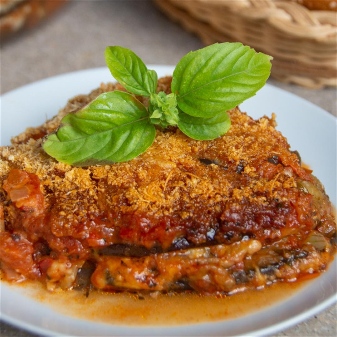 Aubergine Lasagna (Parmigiana)