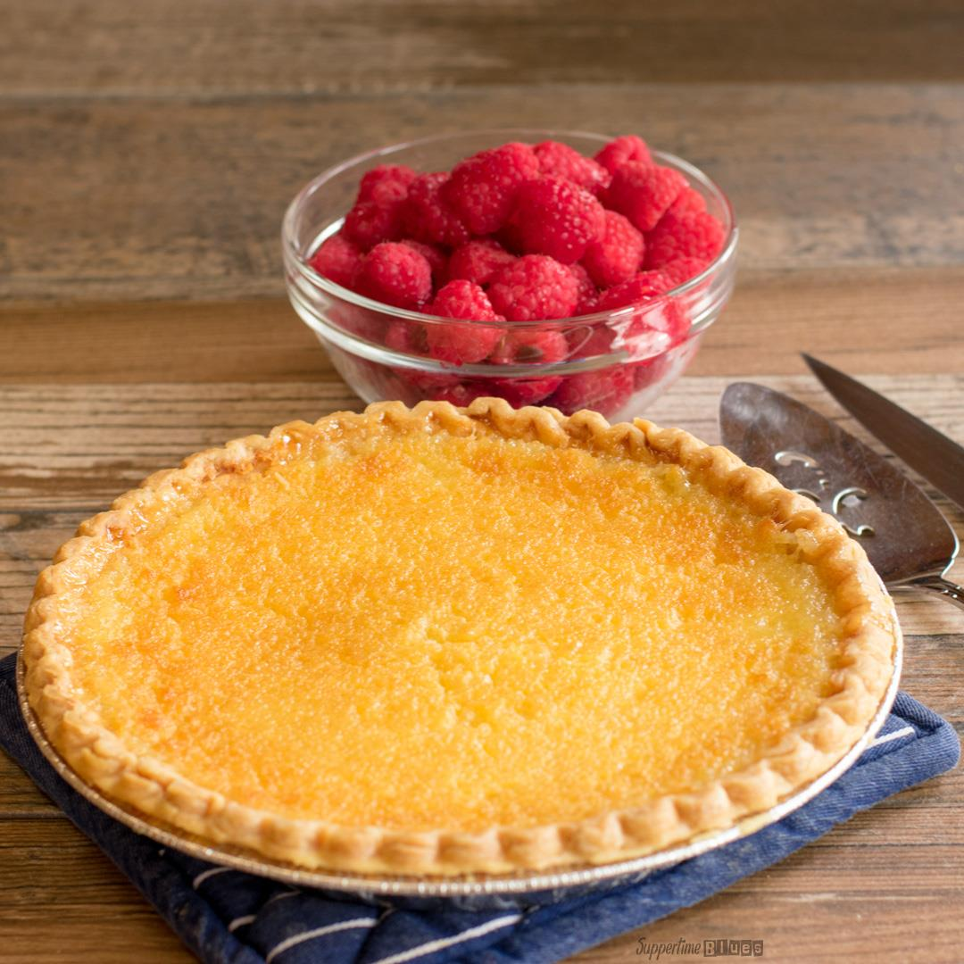 An Old-fashioned Buttermilk Pie