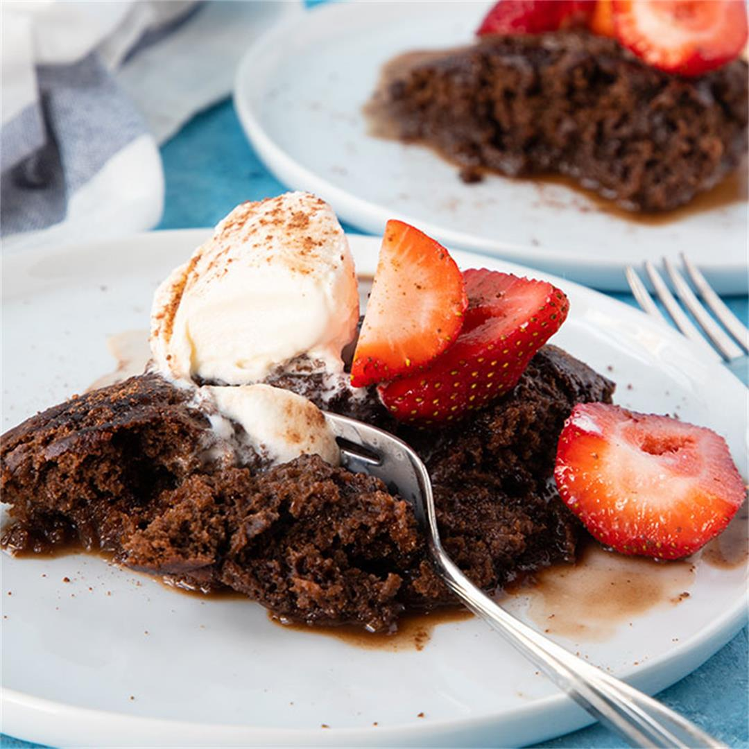 Chocolate Self Saucing Pudding