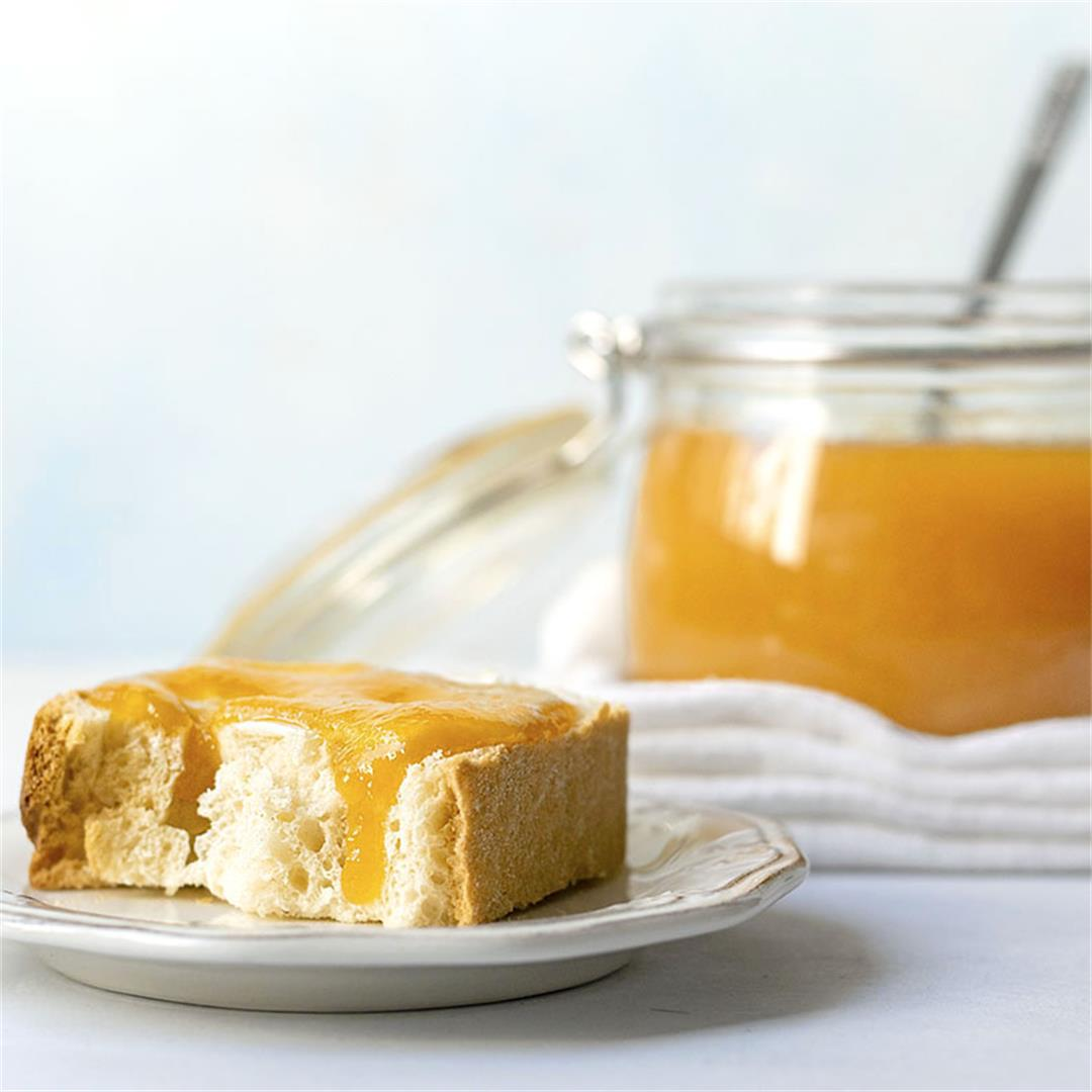 Small batch 3-ingredient easy peach jam