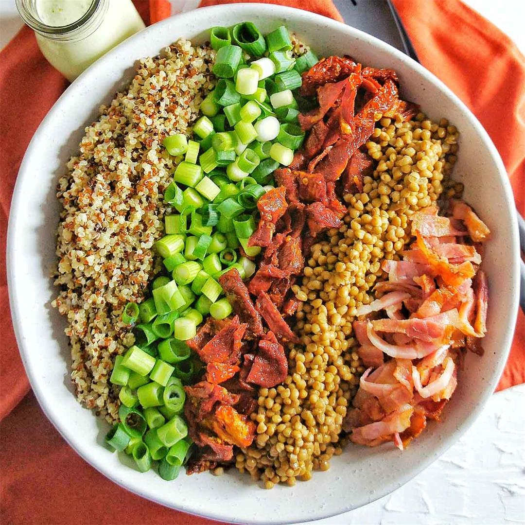Sun-Dried Tomato Quinoa Salad