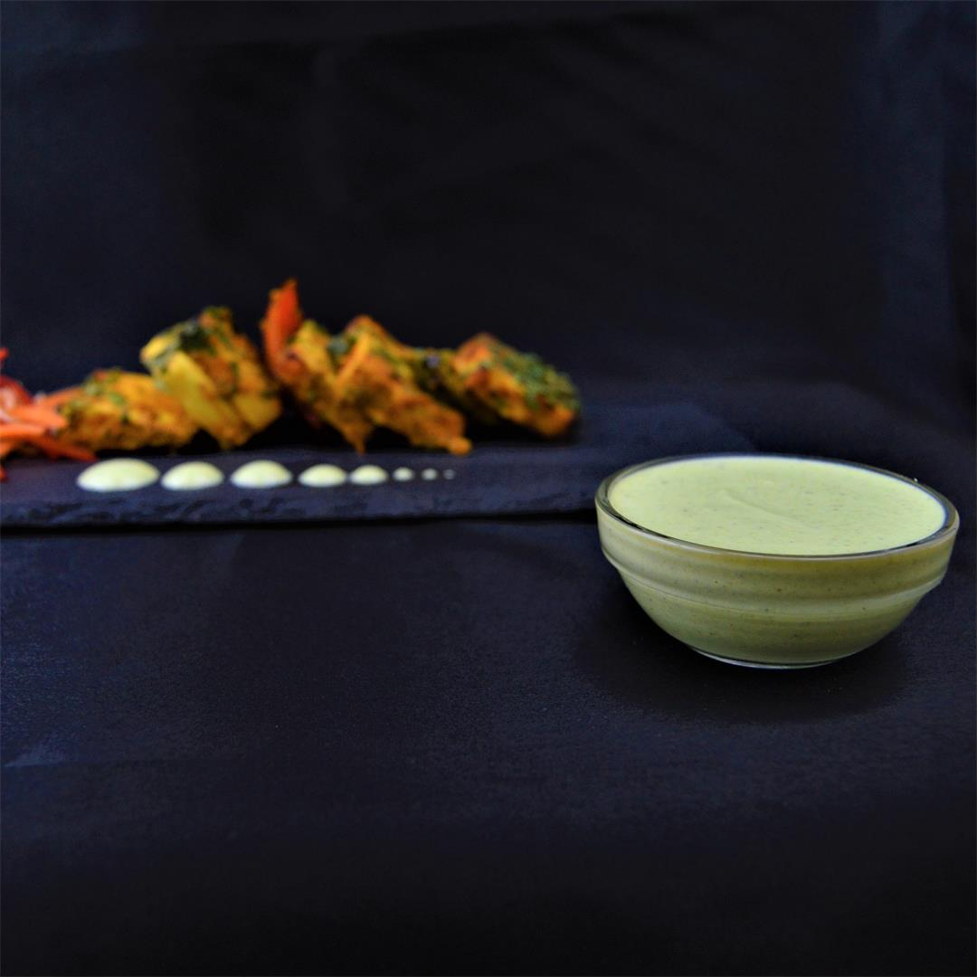 Restaurant Style Yogurt Mint Sauce / Dip