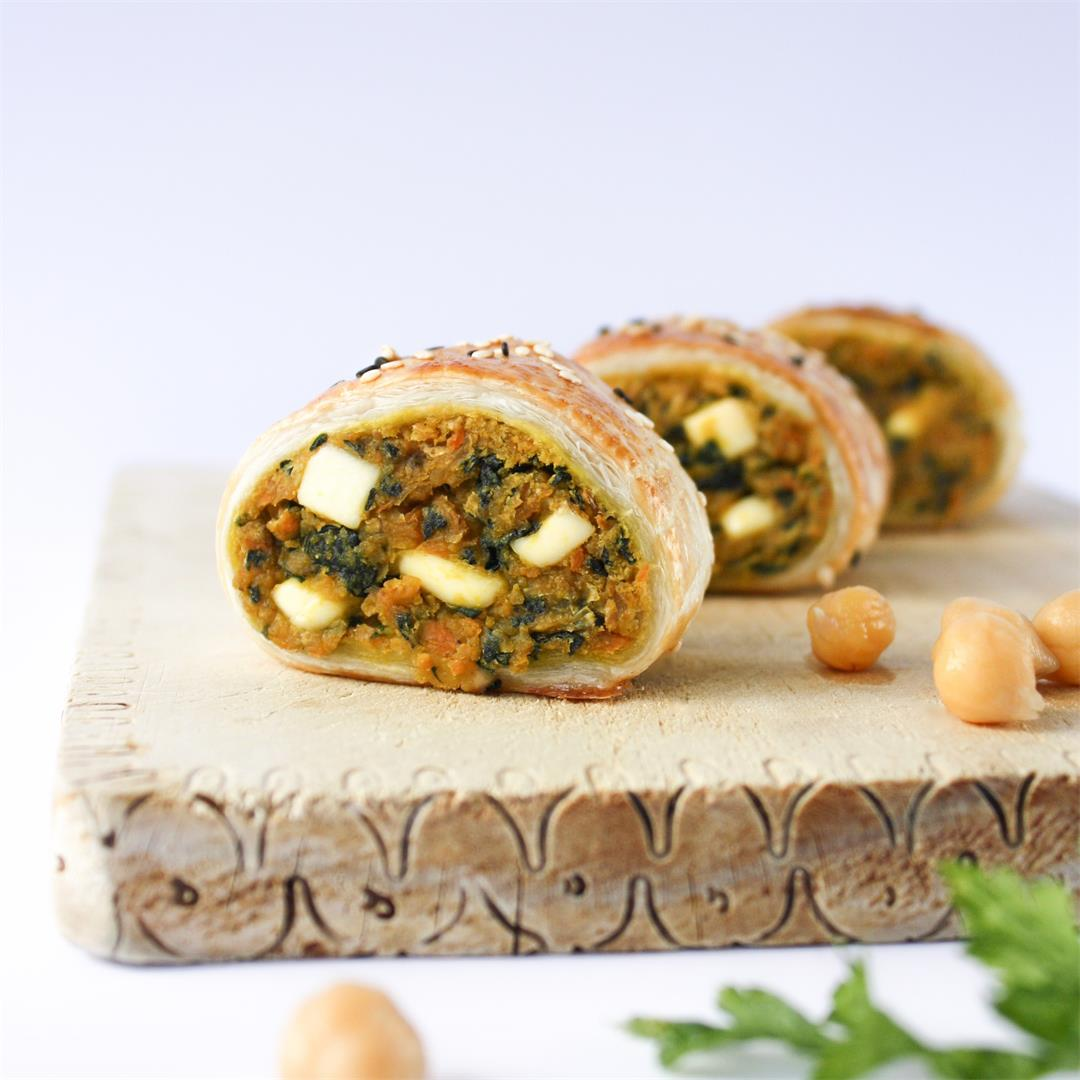 Spinach, chickpea and sweet potato