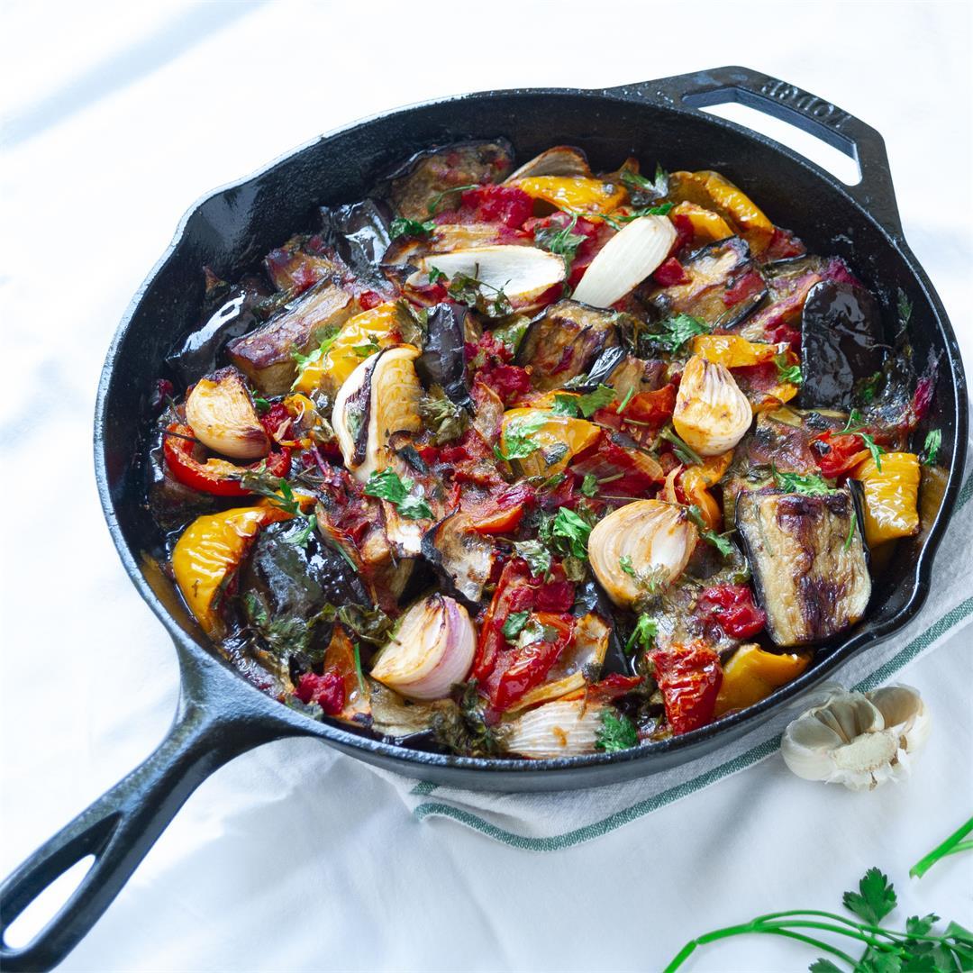 Aunt Kathy's Eggplant Stew