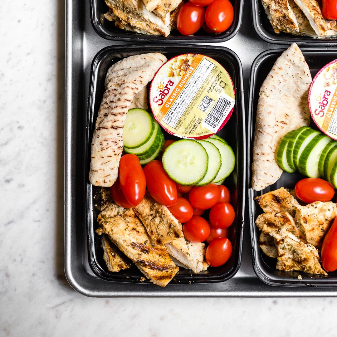 The Best Chicken Hummus Bistro Boxes