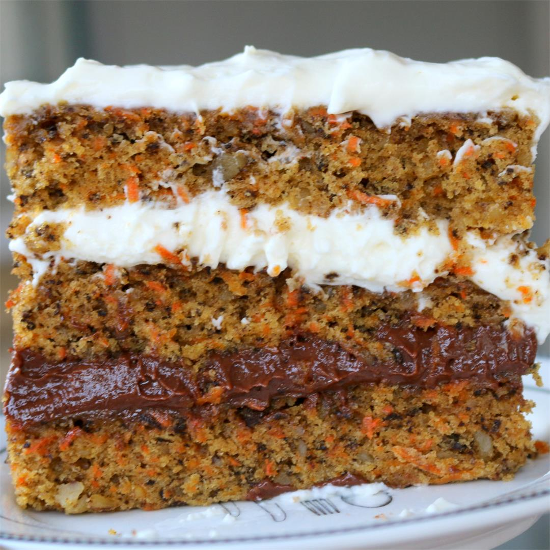 Nutella Cheese Carrot Cake – Hello Happy