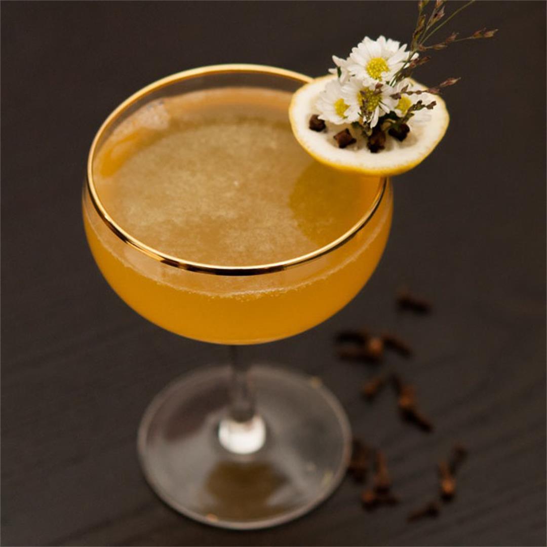 The Tangerine Daisy Cocktail