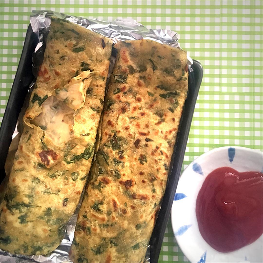 Cheese Parathas