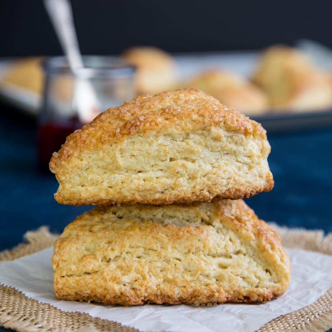 How to Make Basic Buttermilk Scones